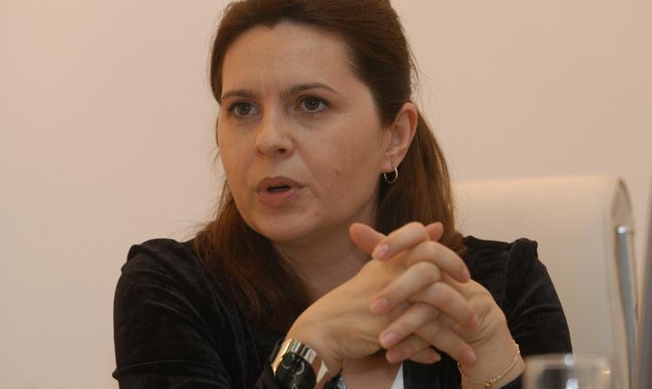 Purtătoarea de cuvânt a PNL, Adriana Săftoiu