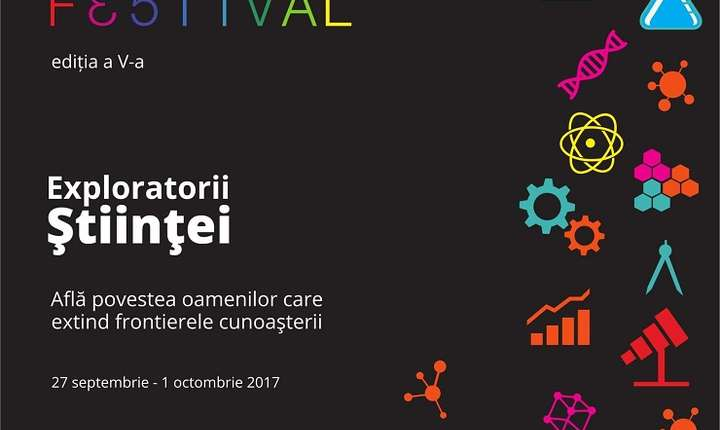 Afiș Bucharest Science Festival