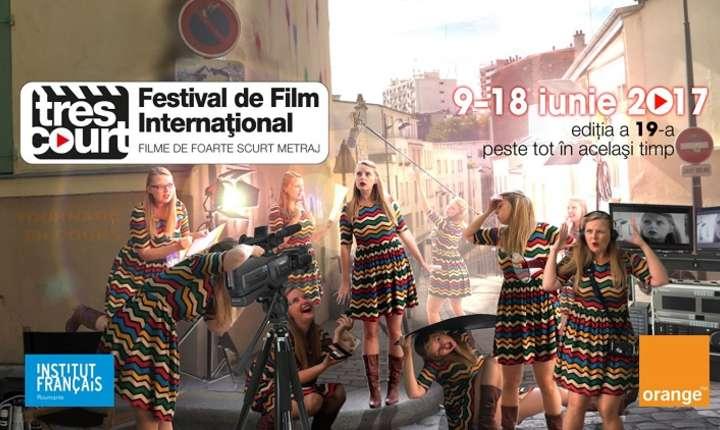 Festivalul internațional de film de foarte scurt metraj Très court 2017