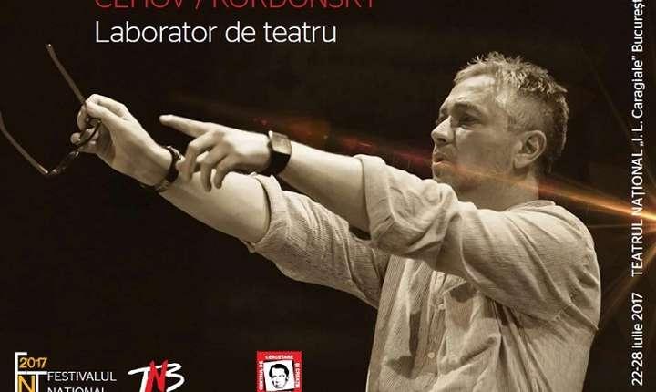 Afiș Cehov - Kordonsky - Laborator de teatru