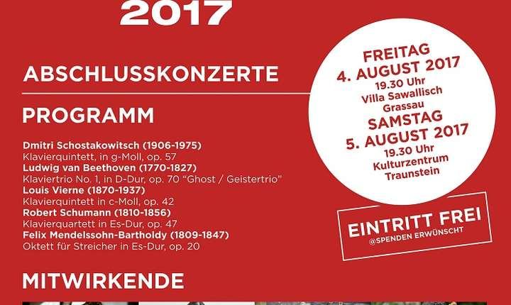 Afiș Chiemgauer Interferenzen, Germania 2017