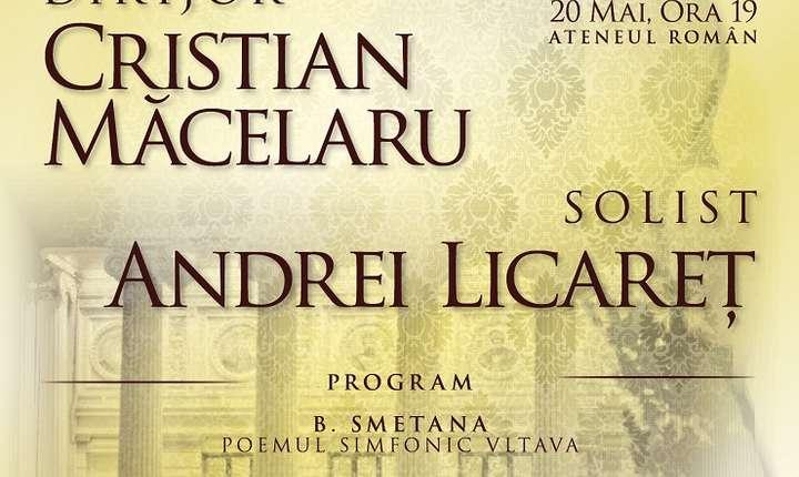 Afiș Concert Camerata Regală, 20 mai 2017, Ateneul Român