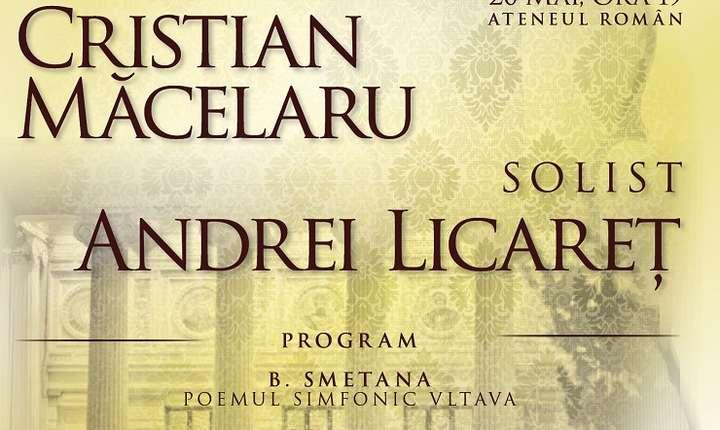 Afiș Concert Camerata Regală, 20 mai, Ateneul Român
