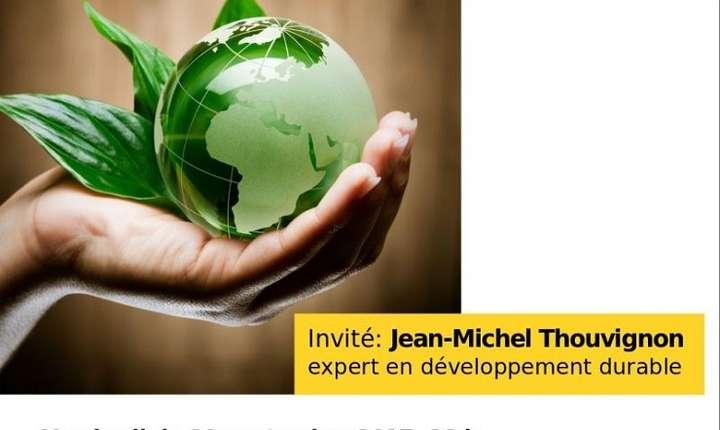 Afiș Dezvoltare durabilă - Jean-Michel Thouvignon