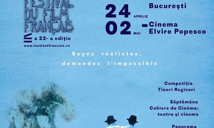 Afiș Festivalul Filmului Francez 2018