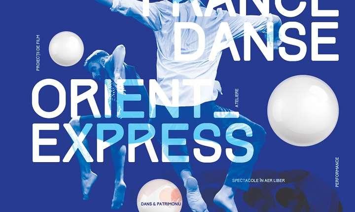 Afiș FranceDance Orient - Express