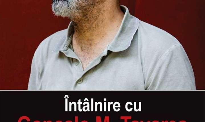 Afiș Întâlnire cu Gonçalo M. Tavares (Portugalia)