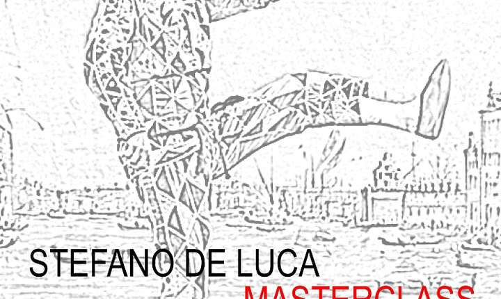 Afiș masterclass Stefano de Luca