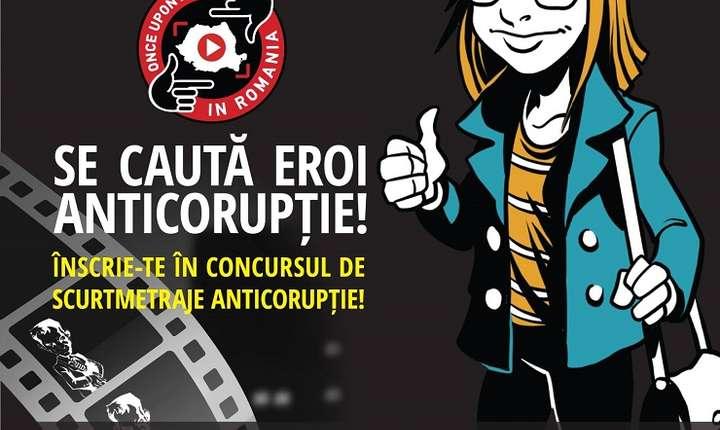 """Afișul concursului """"Once Upon a Time in Romania"""""""