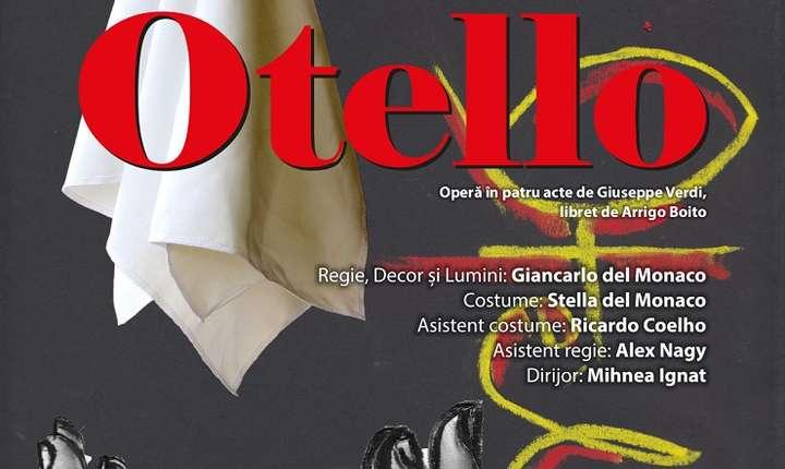 Afiș premiera Otello, ONB 2018