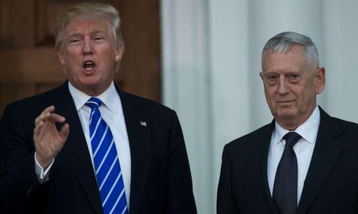 Aflat în dezacord cu presedintele american Donald Trump, secretarul Apararii Jim Mattis demisioneaza.