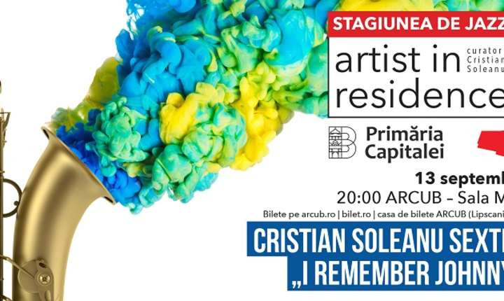 Afiș Artist in Residence - Cristian Soleanu