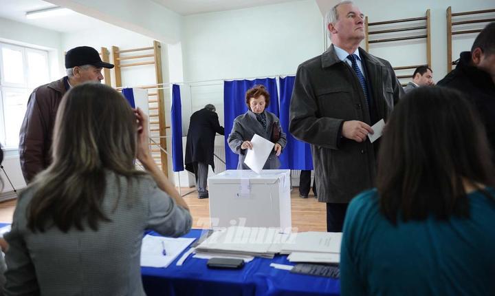 Primele rezultate ale exit-poll-urilor urmează să fie prezentate la ora 21.00