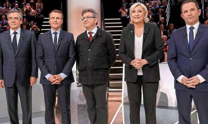Alegeri prezidentiale Franta: ultima infruntare televizata intre cei 11 candidati