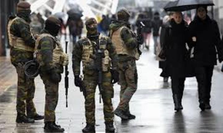 A treia zi consecutiva de alerta maxima la Bruxelles
