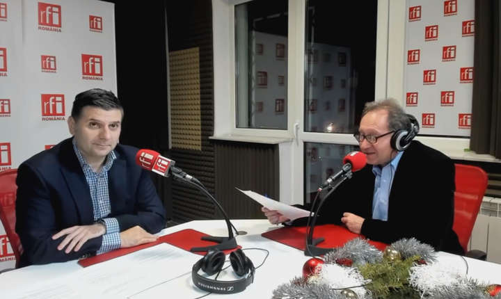 Alexandru Petrescu si Constantin Rudnitchi la radio