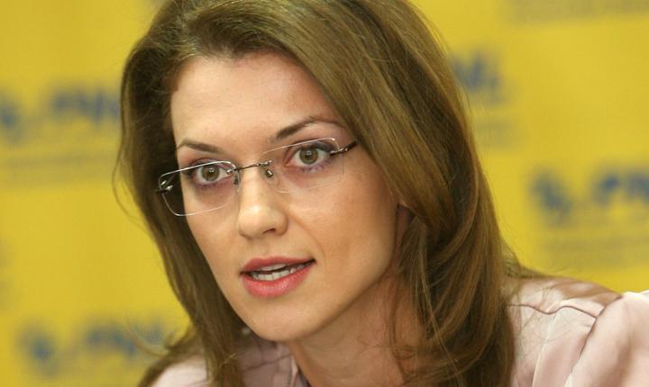 Copreşedintele PNL, Alina Gorghiu