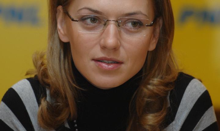 Alina Gorghiu, co-preşedintele PNL