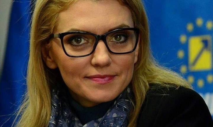 Alina Gorghiu, optimistă că moțiunea de cenzură va trece (Sursa foto: Facebook/Alina Gorghiu)