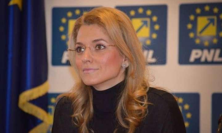 Senatoarea Alina Gorghiu (Foto: site PNL)