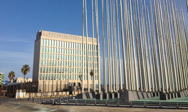 Ambasada SUA de la Havana inauguratà în iulie 2015 dupà 54 de ani de rupturà a relatiilor diplomatice cubanezo-americane