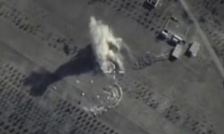 Bombardamente ruseşti în Siria (Foto: Reuters/Ministerul rus al Apărării)