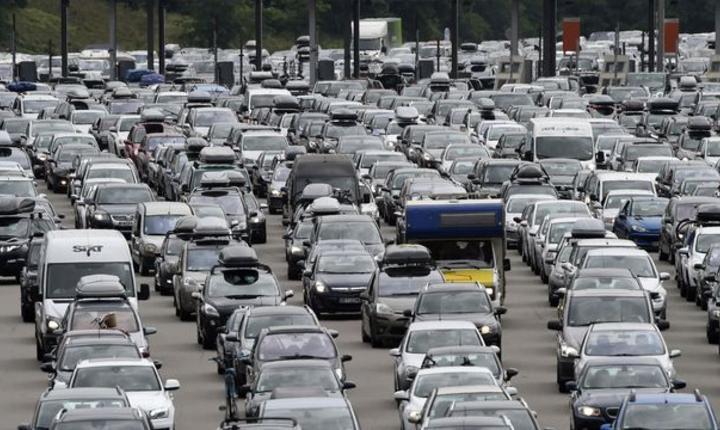 Ambuteiaje pe o autostradà francezà