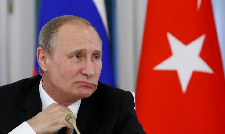 Preşedintele rus, Vladimir Putin (Foto: Reuters/Sergei Karpukhin)