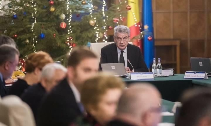 Premierul Mihai Tudose refuză să-l demită pe şeful Poliţiei Române (Sursa foto: gov.ro)