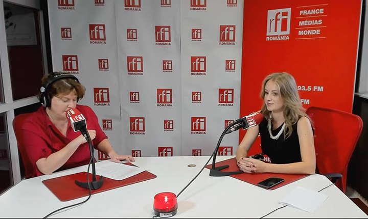 Andreea Orosz si Ana Maria Ghiță  la RFI
