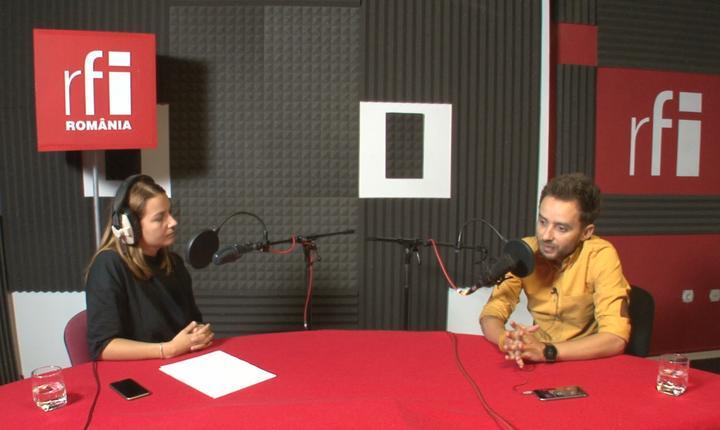 Andreea Pietroşel și Alex Negrea la radio