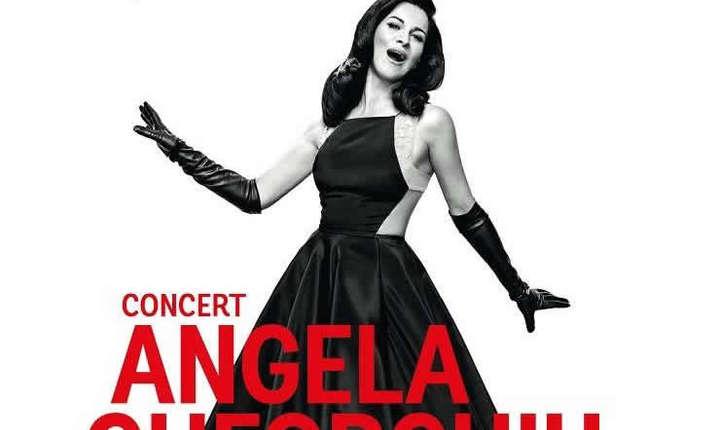 Afiș Concert extraordinar Angela Gheorghiu, București, 2017