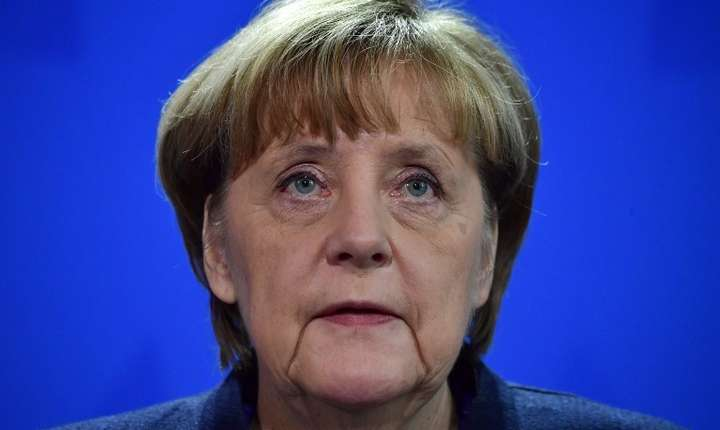 Cancelara germană, Angela Merkel (Foto: AFP/John MacDougall)