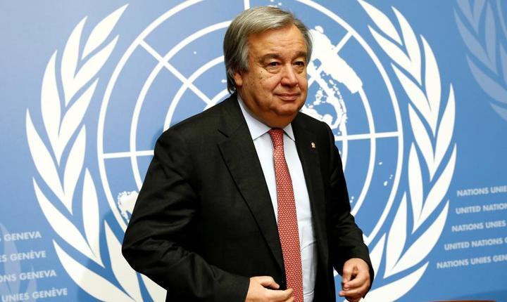 Antonio Guterres, noul secretar general al ONU