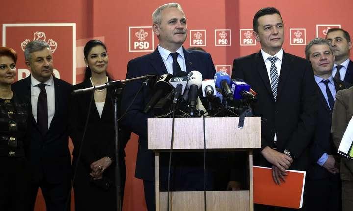 Liviu Dragnea i-ar fi cerut demisia lui Sorin Grindeanu (Sursa foto: www.psd.ro)