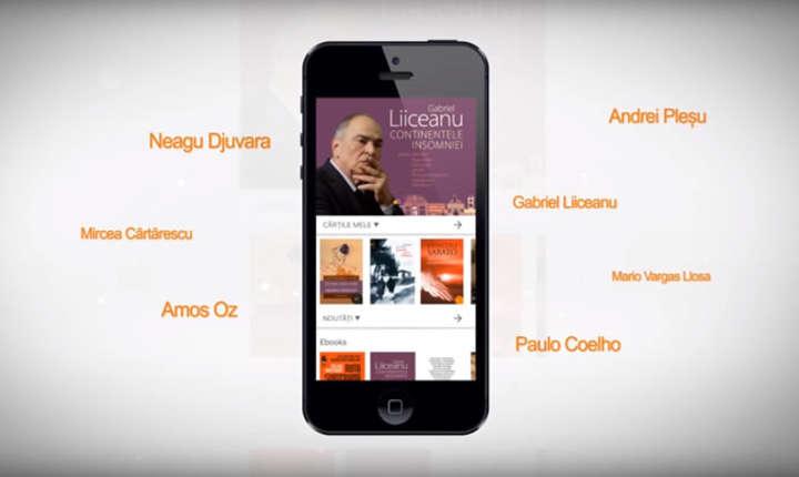 Aplicatie mobil Humanitas - librarie electronica