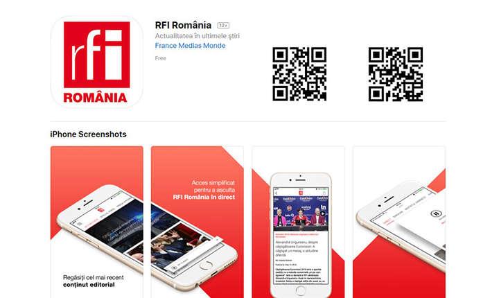 Instaleaza noua aplicatie RFI Romania din iTunes