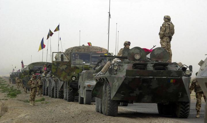 Trupe românești din cadrul NATO