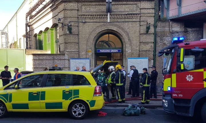 Atentat terorist la stația de metrou Parsons Green