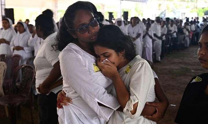 Rude ale victimelor atentatelor din Sri Lanka (Foto: AFP/Jewel Samad)