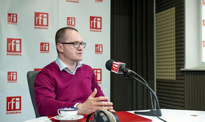 Attila Korodi, în studioul RFI (arhivă)