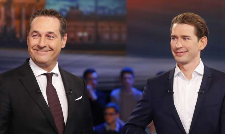 Liderul FPÖ, Heinz-Christian Strache este cel mai probabil viitorul partener de coalitie al conservatorilor lui Sebastian Kurz