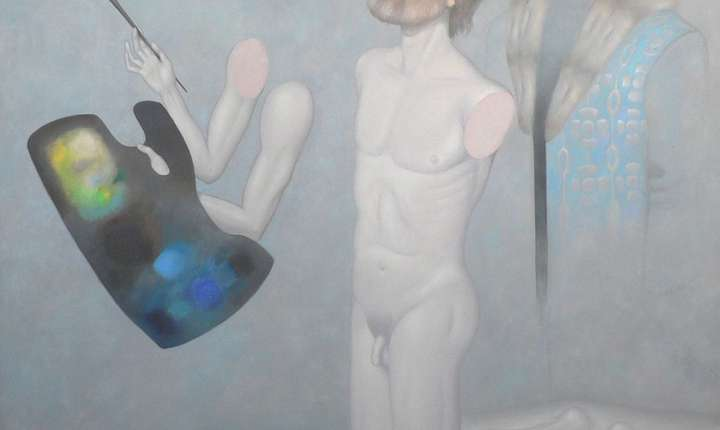 Victor Cupșa - Autoportret