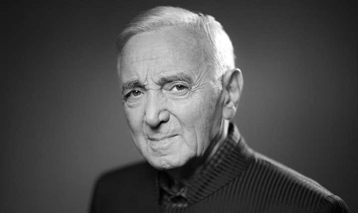 Charles Aznavour în noiembrie 2017, în ajunul unui nou turneu