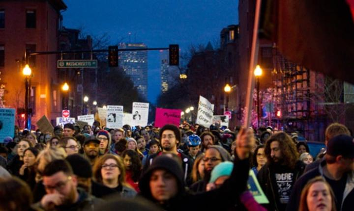 Protestele din Baltimore se extind