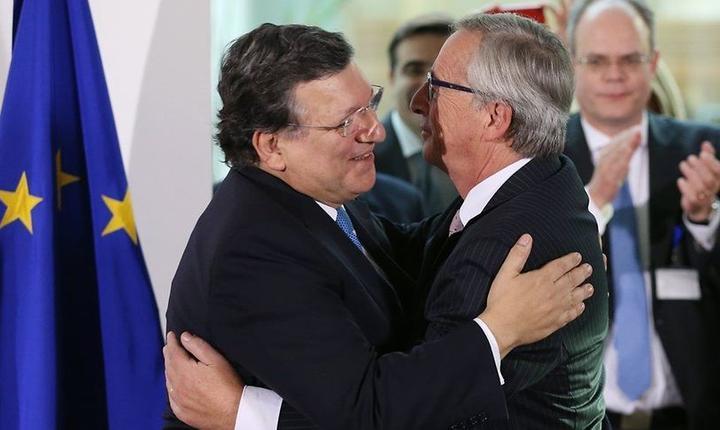 José Manuale Barroso si Jean-Claude Juncker