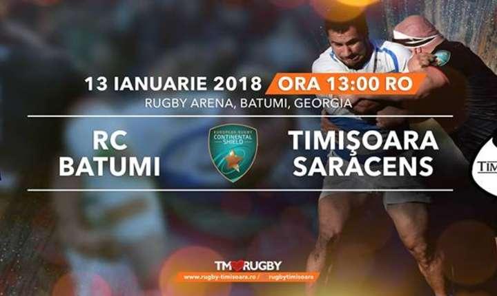 RC Batumi - Timișoara Saracens