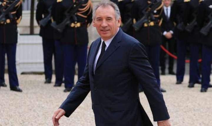 François Bayrou, ministrul justitiei