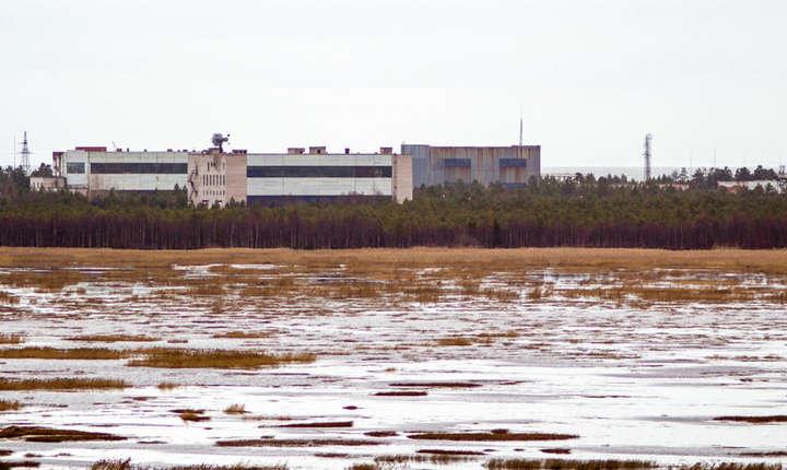 Baza militara din regiunea Arhanghelsk, Rusia, 9 septembrie 2011.