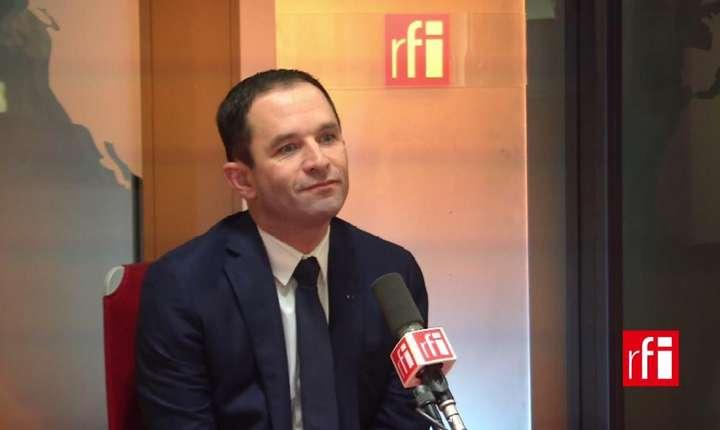 Benoît Hamon la RFI